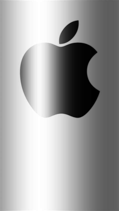 wallpaper for iphone 5 silver black on silver shadow apple iphone 5 wallpapers hd
