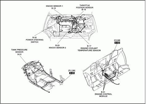2001 Kia Engine Diagram Kia Wiring Diagram Of The Engine System Kia