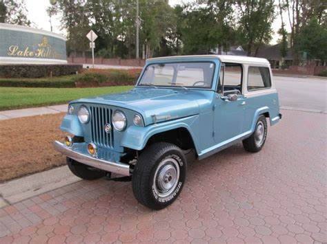 willys jeepster 1968 jeepster commando by kaiser jeep corporation sold