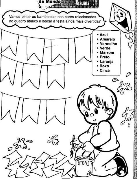 200 Atividades e desenhos de Festa Junina para colorir e