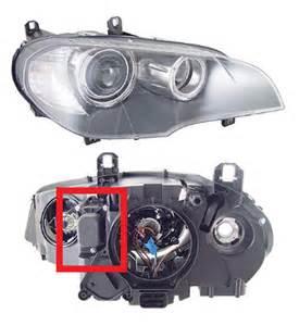 x5 e70 halogen headlight eye led upgrade xoutpost