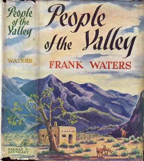frank waters used books rare people of the valley frank waters
