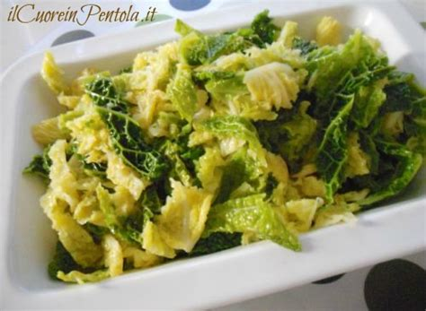 come cucinare la verza in padella verza in padella ricetta verza in padella ilcuoreinpentola