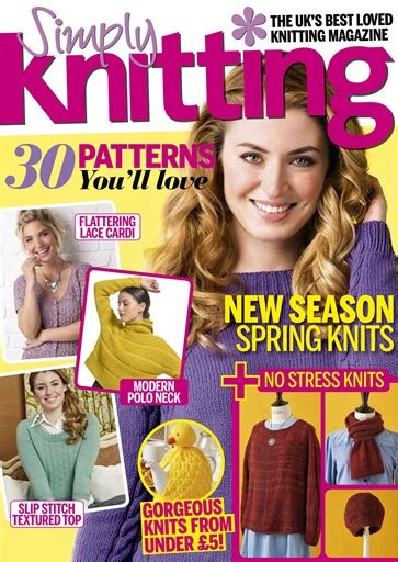 simply knitting magazine issue  subscriptions
