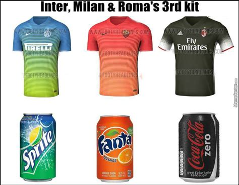 Roma Bathroom by Inter Milan As Roma Amp Ac Milan Third Kit For 2016 17 By