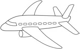 Airplane Template Preschool by Preschool Coloring Pages Of Transportation Coloring