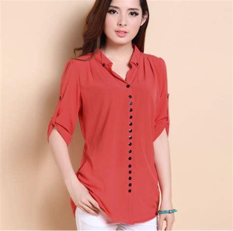 imagenes blusas negras de moda 17 best ideas about blusas de chifon elegantes on