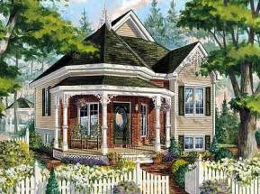 Victorian Cottage House Plans Victorian Cottage Home Plan