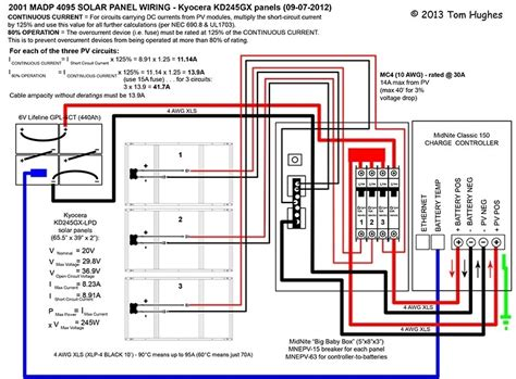 solar panel wiring diagram schematic wiring diagram
