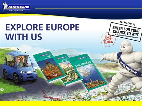Europe Sweepstakes - explore europe with michelin sweepstakes