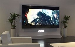 Image result for 120 inch flat Screen TV. Size: 254 x 160. Source: cnet.com
