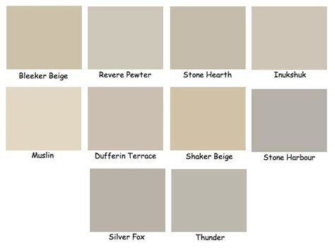 paint colors yellow undertones 25 best ideas about benjamin beige on