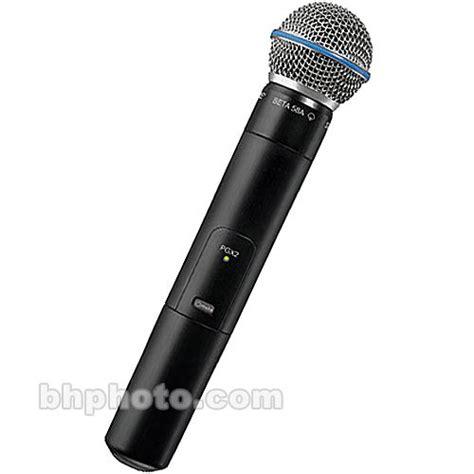 Mic Wireless Shure Pgx 242 Beta 58 shure pgx 2 wireless handheld microphone pgx2 beta58 l5 b h