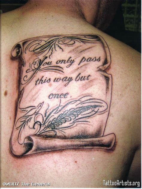 scrolling tattoo designs lettering scroll artists org