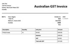 abn invoice template printable invoice template
