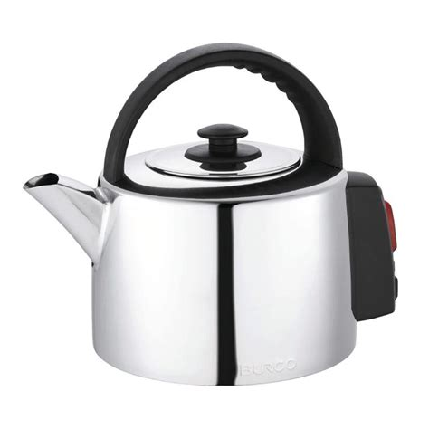stainless steel kettle burco 2 litre stainless steel catering kettle electrical world