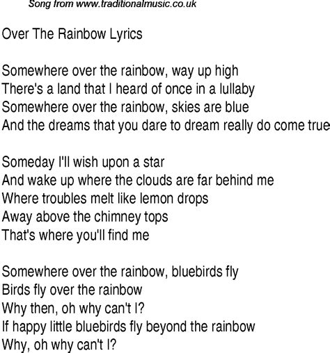 the rainbow testo 1940s top songs lyrics for the rainbow glen miller