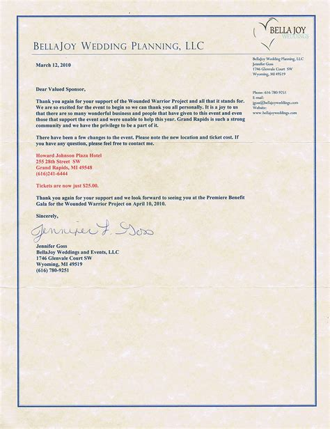Sponsorship Letter For Gala Dinner Michigan Lighting Reviews Client Surveys Testimonials