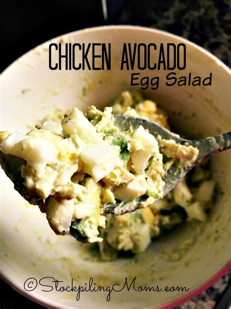 chicken egg salad five easy recipes how to make egg salad chicken avocado egg salad