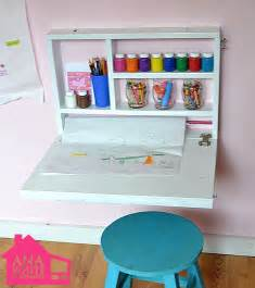 diy fold out desk creative diy wall desk for