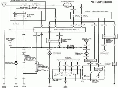 wiring diagram honda accord 1997 wiring diagram with
