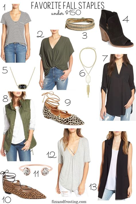 Closet Staples by Favorite Fall Wardrobe Staples By M
