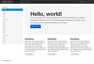 fluid layout in bootstrap exles 183 twitter bootstrap