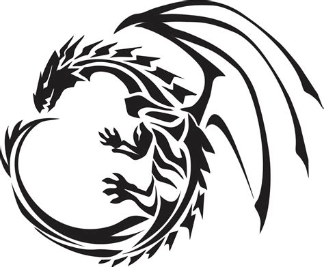 tattoo dragon logo 23 dragon tribals for use on designs tattoos designs lytum