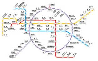 Kyoto Subway Map by Kyoto Subway Map Chinese World Map Weltkarte Peta