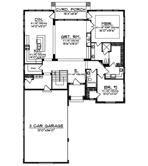 palmer ranch style home plan 051d 0655 house plans and more