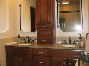 stone glass cabinet hardware bathroom design traditional