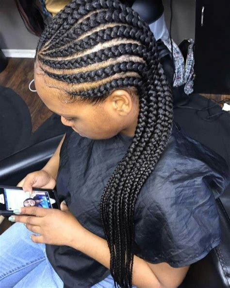 all back braids ghana weaving all back styles african hairstyles for ladies
