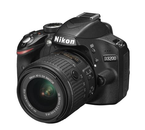 nikon d3200 kit black 18 55mm vr ii