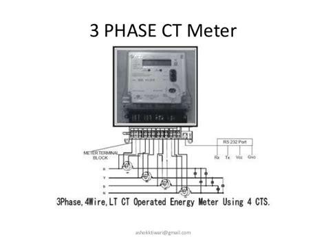 3 phase energy meter circuit diagram energy meters