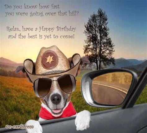 Too Fast. Free Funny Birthday Wishes eCards, Greeting