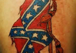 25 magnificent rebel flag tattoos creativefan