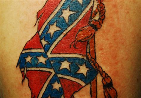 rebel flag rose tattoos 25 magnificent rebel flag tattoos creativefan