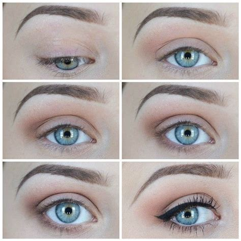 tutorial makeup natural berhijab motives 174 pressed eye shadow cappuccino coffee and gel liner