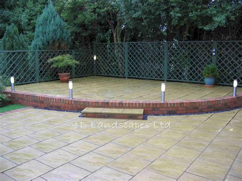 Garden Paving Ideas Uk Patio Ideas Sle Garden Designs Landscaping And