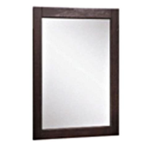 allen roth bathroom mirrors shop allen roth 24 in h x 20 in w contemporary espresso rectangular bathroom mirror at lowes com