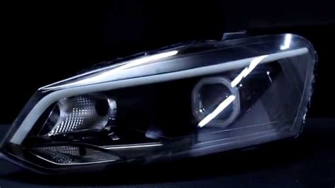 volkswagen polo headlights modified vw polo 2013 headlights 1