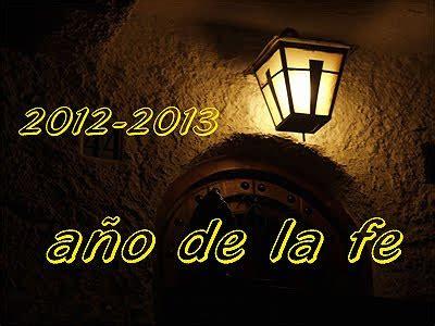 vivir de cara a dios octubre 2012 vivir de cara a dios nuestra inauguraci 243 n del a 241 o de la fe