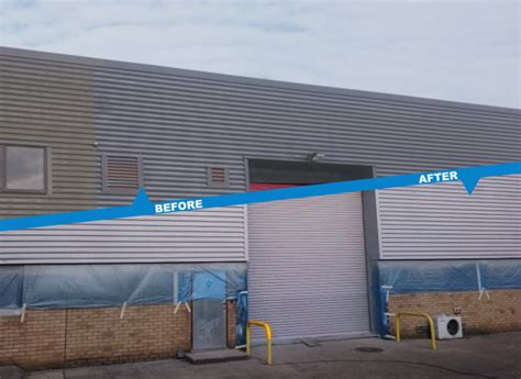 Commercial Spray Paint Contractors Uk Onsite Haywood