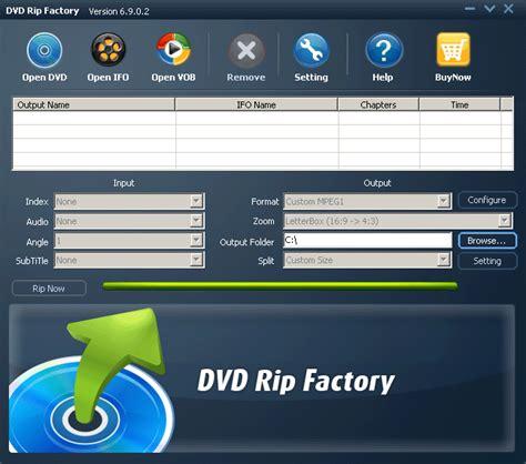 descargar reproductor dvd softonic dvd rip factory descargar