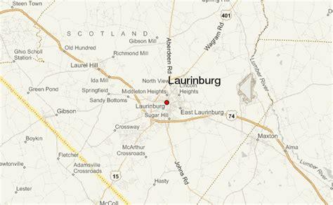 laurinburg carolina map laurinburg location guide