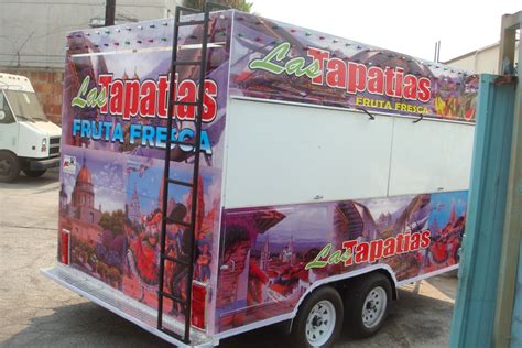 la county fair truck fruit in trailer by kareem carts manufacturing company