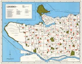 map of vancouver map of city of vancouver showing schools parks community