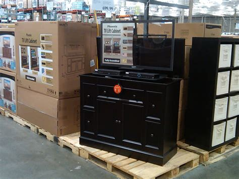 fabulous tv lift cabinet costco decorating ideas images in lift tv cabinet costco cabinets matttroy