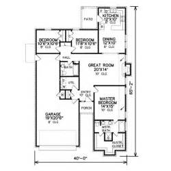 1500 sq ft home plans traditional style house plan 3 beds 2 baths 1500 sq ft