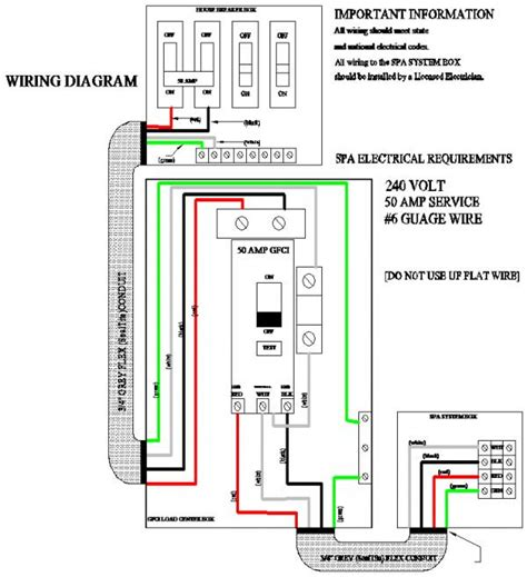 cal spa tub wiring diagram cal free engine image for